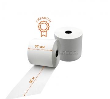 Кассовая лента Tama™ 57мм x 60м Премиум - Кассовая лента Tama™ 57мм x 60м Премиум