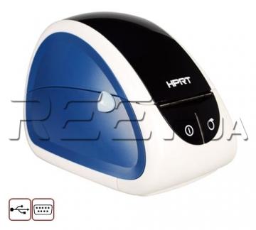 Принтер этикеток и чеков HPRT LPQ58 (белый+синий) - 3