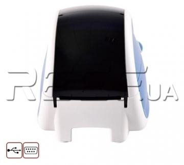 Принтер этикеток и чеков HPRT LPQ58 (белый+синий) - 4