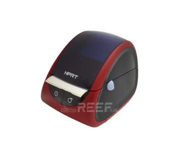 Принтер этикеток и чеков HPRT LPQ80 (красный+чёрный) - 1