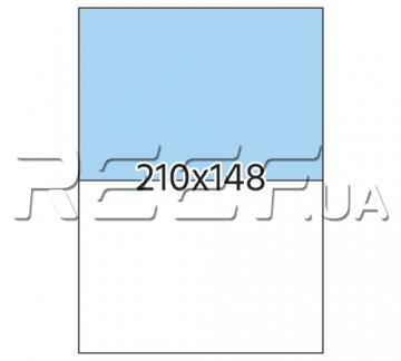 Этикетка A4 - 2 штуки на листе 210x148 (100 листов) - 1