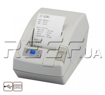 Принтер чеков Citizen CT-S281 (CTS281UBEWH) - 1