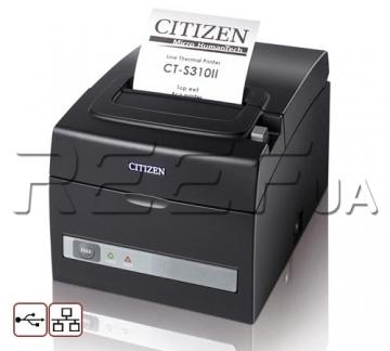 Принтер чеков Citizen CT-S310II (USB + Ethernet) - 1