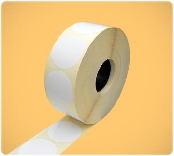 Этикетка 40x40/ 1 тысяча полуглянец круглая (вт41) - Этикетка 40x40/ 1 тысяча полуглянец круглая (вт41)