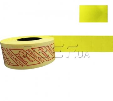Этикет-лента 26x16 прямоугольная лимонная Printex - Этикет-лента 26x16 прямоугольная лимонная Printex