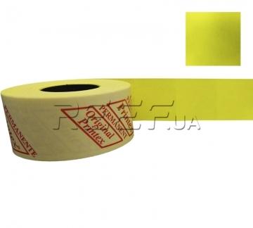 Этикет-лента 29x28 прямоугольная лимонная Printex - Этикет-лента 29x28 прямоугольная лимонная Printex