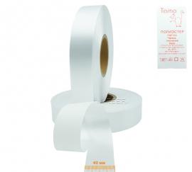 Полиэстер-сатиновая лента  PRF700 40 м x 200 м (белая)