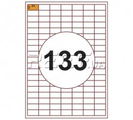 Этикетка A4 - 133 штуки на листе 28x15 (100 листов)