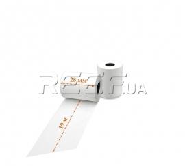 Кассовая лента Tama™ 28мм x 19м. Фото Кассовая лента Tama™ 28мм x 19м