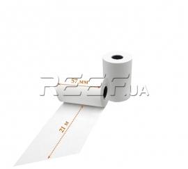 Кассовая лента Tama™ 57мм x 21м. Фото Кассовая лента Tama™ 57мм x 21м