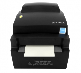 Принтер этикеток GoDEX DT4L (Linerless) с обрезчиком. Фото 2
