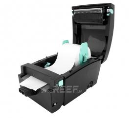 Принтер этикеток GoDEX DT4L (Linerless) с обрезчиком. Фото 4