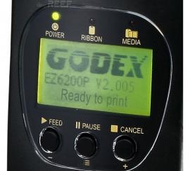 Принтер этикеток GoDEX EZ6300Plus. Фото 2