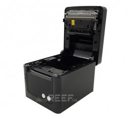 Принтер чеков HPRT TP809 (USB+Ethernet+Serial) (черный). Фото 6