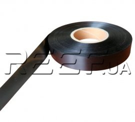 Сатиновая лента SRF101BD 40ммx200м, чёрная (Премиум)