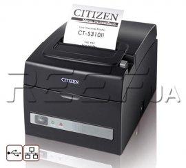 Принтер чеков Citizen CT-S310II (USB + Ethernet)