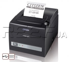 Принтер Citizen CT-S310II (USB + RS-232)