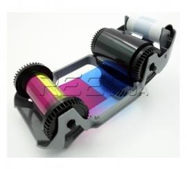 Риббон YMCKO на 200 оттисков Zebra для ZC100/ZC300 (800300-350EM). Фото Риббон YMCKO на 200 оттисков Zebra для ZC100/ZC300 (800300-350EM)