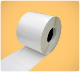 Этикетка полипропилен 70x50/ 1 тысяча (каучук.кл.) (вт41)