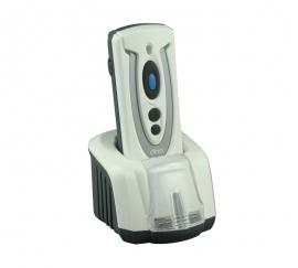 Сканер штрихкода Cino PF680BT с док-станцией (белый). Фото Сканер штрихкода Cino PF680BT с док-станцией (белый)
