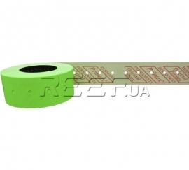 Этикет-лента 21x12 прямоугольная зеленая Printex. Фото Этикет-лента 21x12 прямоугольная зеленая Printex