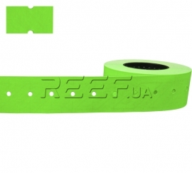 Этикет-лента 21x12 прямоугольная зелёная Printex