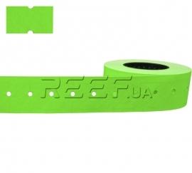 Этикет-лента 21x12 прямоугольная зеленая Printex
