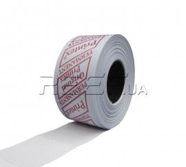 Этикет-лента 29x28 прямоугольная белая Printex. Фото Этикет-лента 29x28 прямоугольная белая Printex