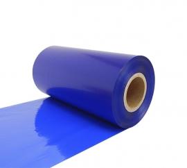 Риббон Resin RF66 110 мм x 300 м ярко-голубой