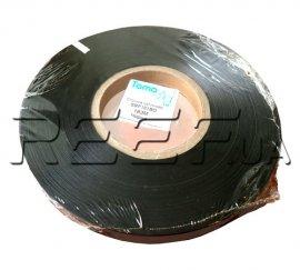 Сатиновая лента двухсторонняя SRF101BD 25 мм x 200 м (чёрная) Премиум. Фото 1