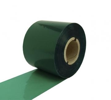 Риббон WAX RF37 85 мм x 300 м зелёный - Риббон WAX RF37 85 мм x 300 м зелёный