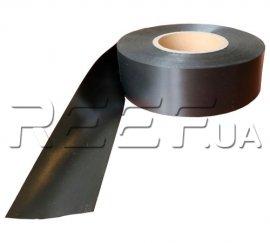 Сатиновая лента двухсторонняя SRF101BD 50 мм x 200 м (чёрная) Премиум. Фото 1