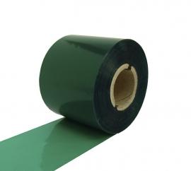 Риббон WAX RF37 85 мм x 300 м зелёный. Фото Риббон WAX RF37 85 мм x 300 м зелёный
