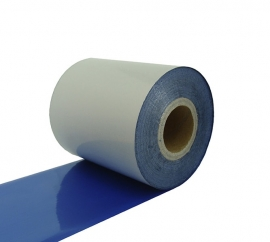 Риббон Resin Textile RFT202 64 мм x 300 м голубой (металлик)
