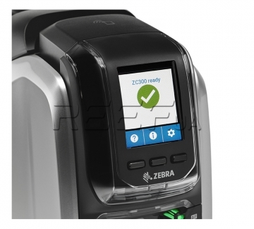 Принтер пластикових карт Zebra ZC300 (ZC11-0000000EM00) - Принтер пластикових карт Zebra ZC300 (ZC11-0000000EM00)